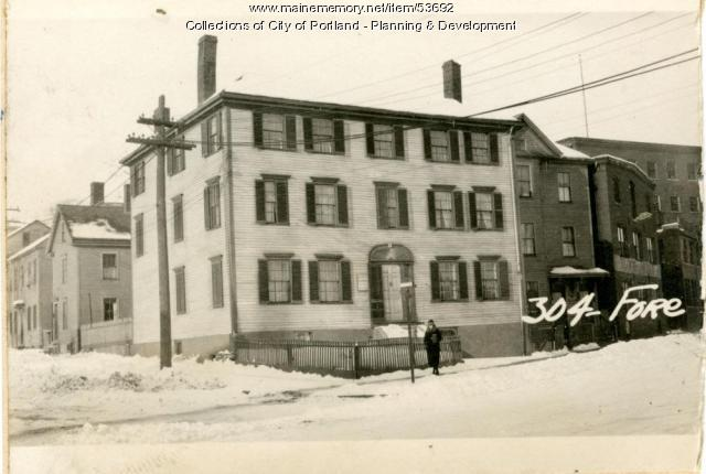 159-161 Fore Street, Portland, 1924