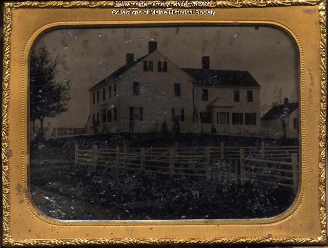 Foster Home, East Machias, ca. 1860