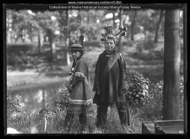 Benjamin and Mary Neptune, Portland, 1920