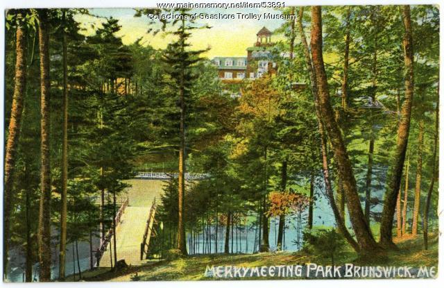 Merrymeeting Park, Brunswick, 1914