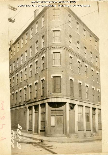 287-289 Fore Street, Portland, 1924