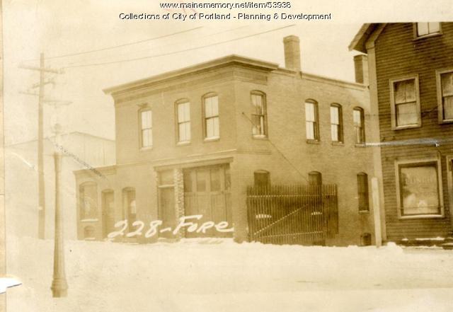 224 228 Fore Street Portland 1924