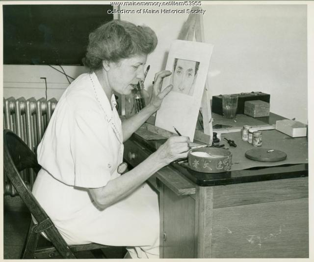 Mildred Burrage, Staten Island, ca. 1944