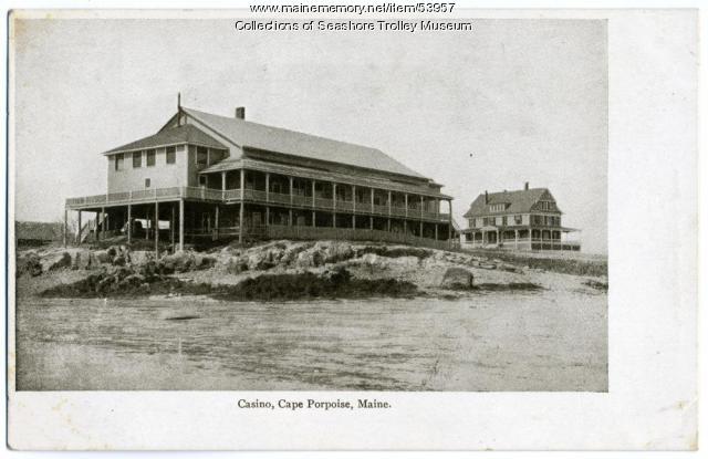 The casino at Cape Porpoise, ca. 1905