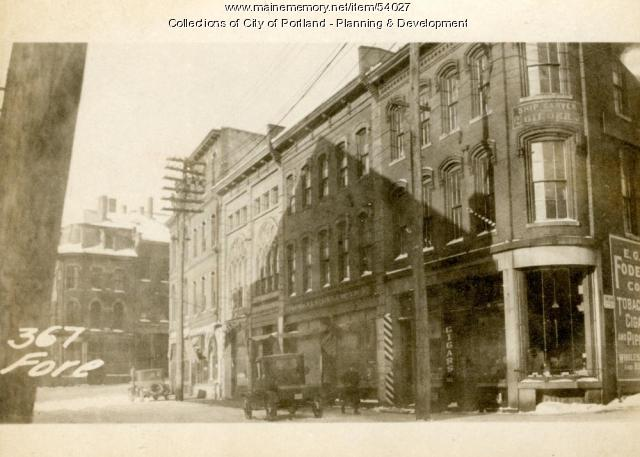 367-371 Fore Street, Portland, 1924