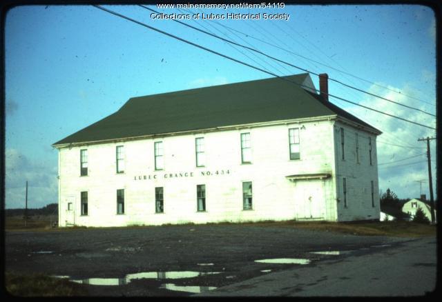 Grange #434, Lubec, 1975