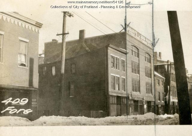 403-405 Fore Street, Portland, 1924