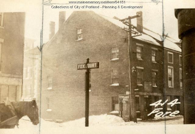 414 Fore Street, Portland, 1924
