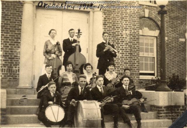 Good Will school orchestra, Fairfield, 1919