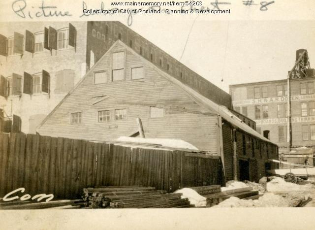 281 Commercial Street, Portland, 1924
