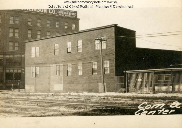 285-291 Commercial Street, Portland, 1924