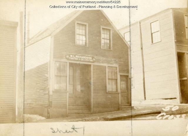 46 Cross Street, Portland, 1924