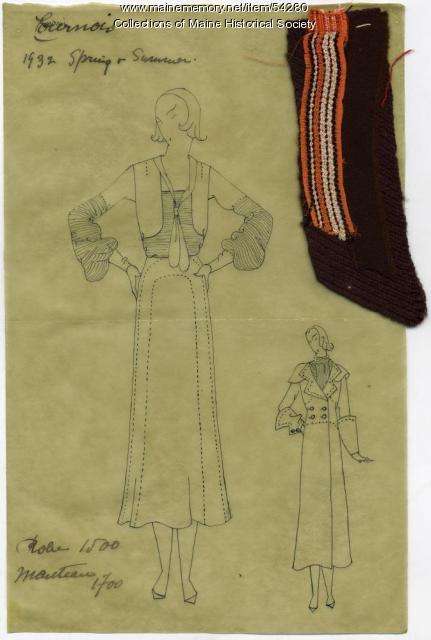 Paris fashion, 1932