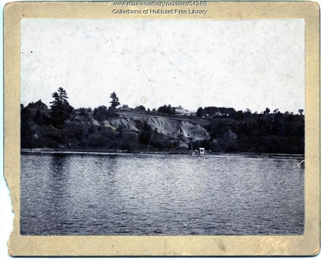 Chelsea Heights, Kennebec River, Hallowell, ca. 1895