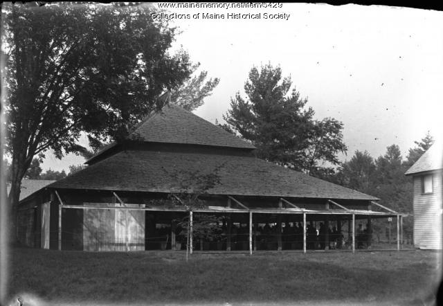 Auditorium, Maine Chautauqua Union, Fryeburg, ca. 1895