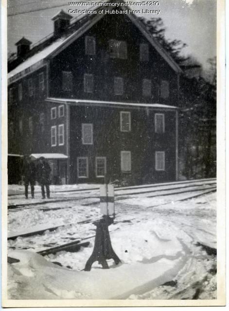 Hallowell Sandpaper Mill, Hallowell, ca. 1920
