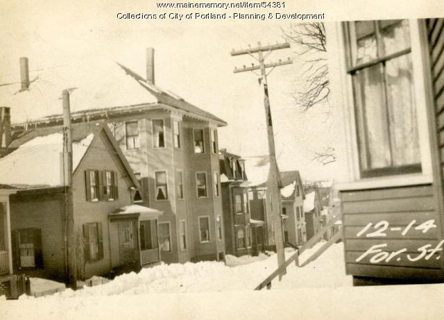 12 Forest Street, Portland, 1924