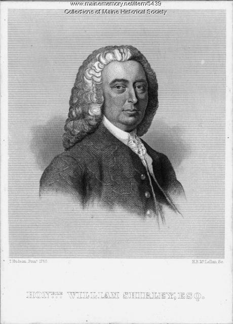 Governor William Shirley