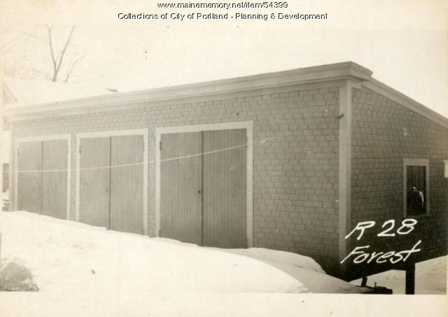 28 Forest Street, Portland, 1924