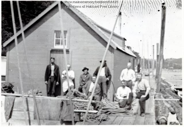 Hallowell Steam and Boom Co., Hallowell, ca. 1895
