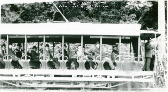 Augusta - Hallowell - Gardiner Trolley, Hallowell, ca. 1900