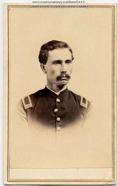 B.A. Osborn, 1st Maine Cavalry, ca. 1864