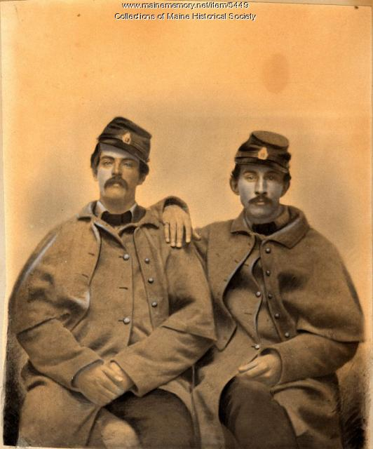 George H. Libby and Jesse B. Allen, 1861