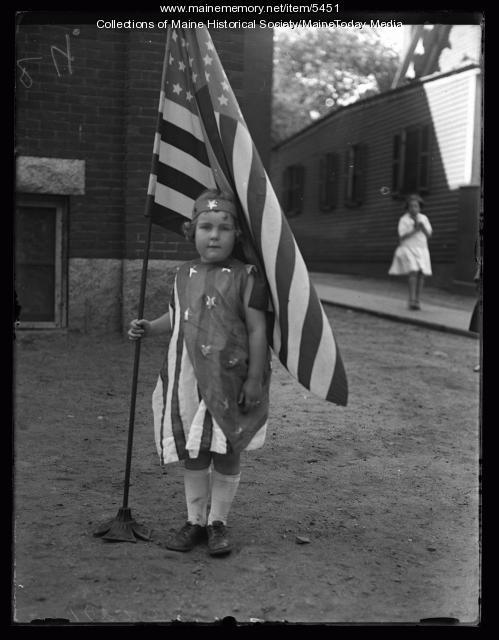 Ruth Fairbanks, Portland, circa 1922