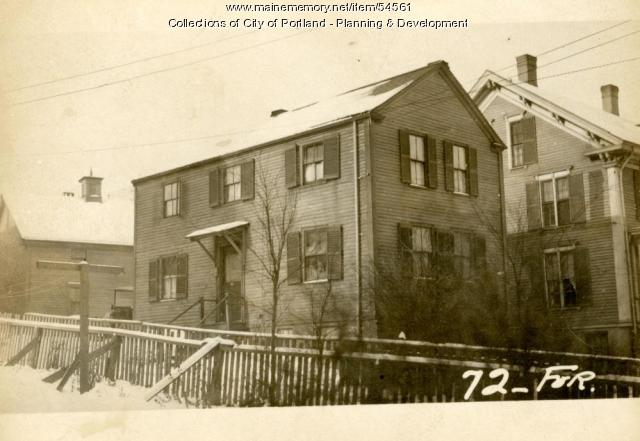 72-74 Forest Avenue, Portland, 1924