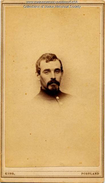 Civil War soldier, 1st Maine Cavalry