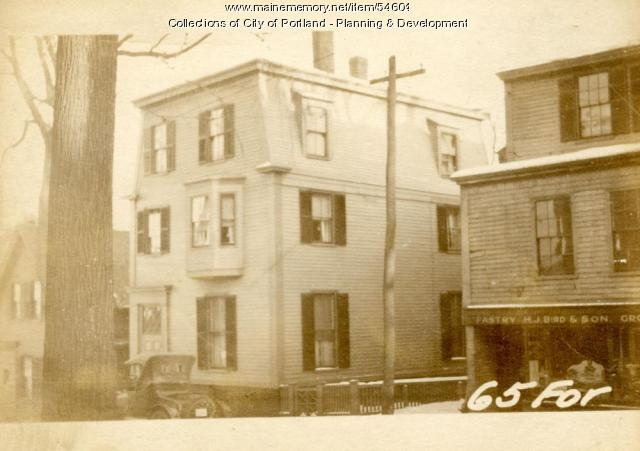 63-65 Forest Avenue, Portland, 1924