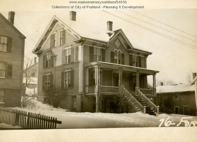 76-78 Forest Avenue, Portland, 1924