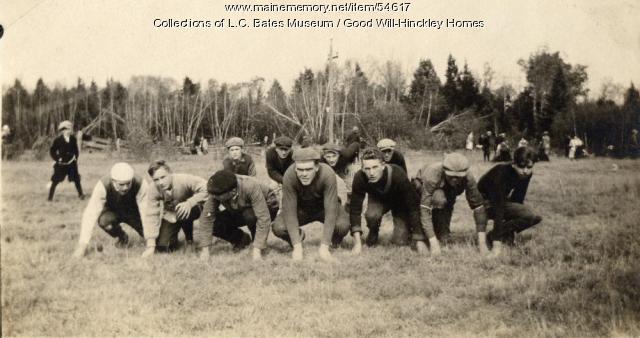 Good Will football team, Fairfield, 1920