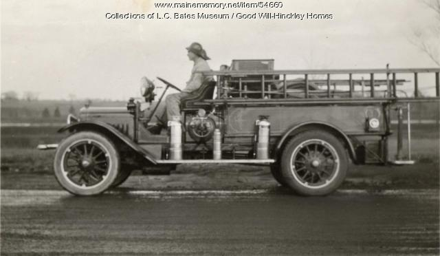 Good Will Fire Truck, Fairfield, ca. 1940