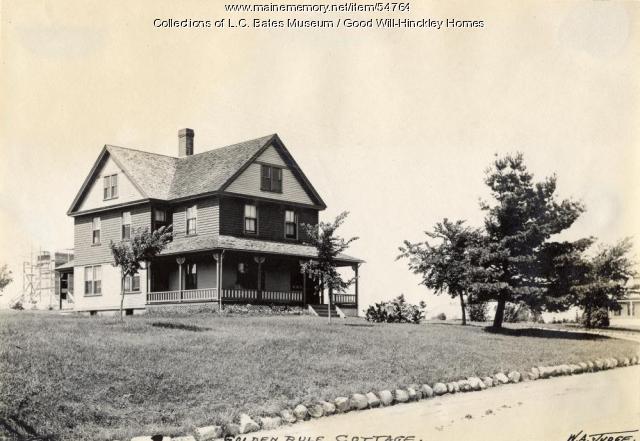 Golden Rule Cottage, Fairfield, ca. 1910