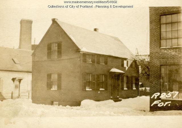 3 Pottery Lane, Portland, 1924