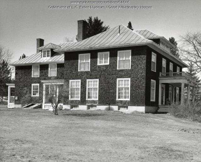 Gilman-Redington Cottage, Fairfield, ca. 1960