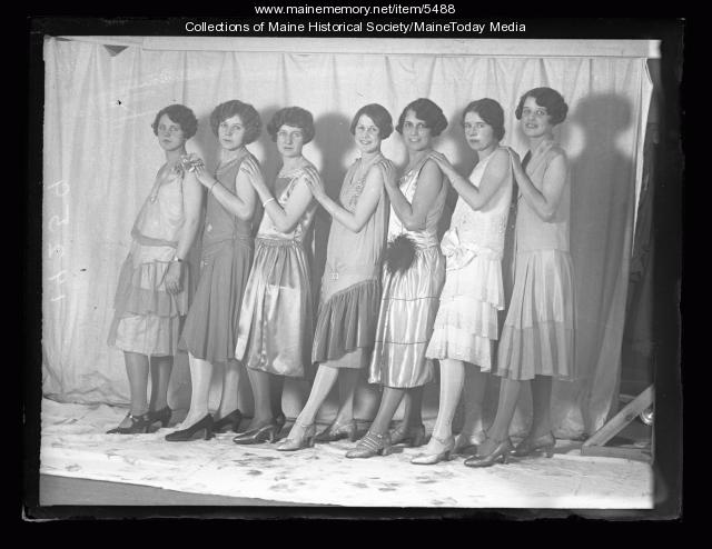 Miss Maine contestants of 1926