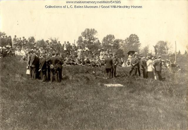 Good Will students and teachers, Fairfield, ca. 1920