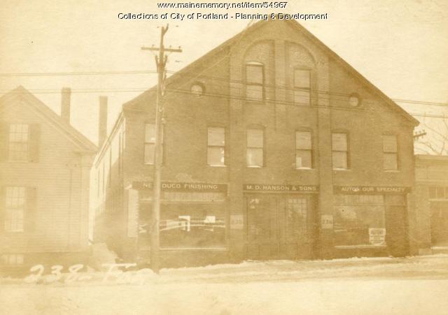 238 Forest Avenue, Portland, 1924