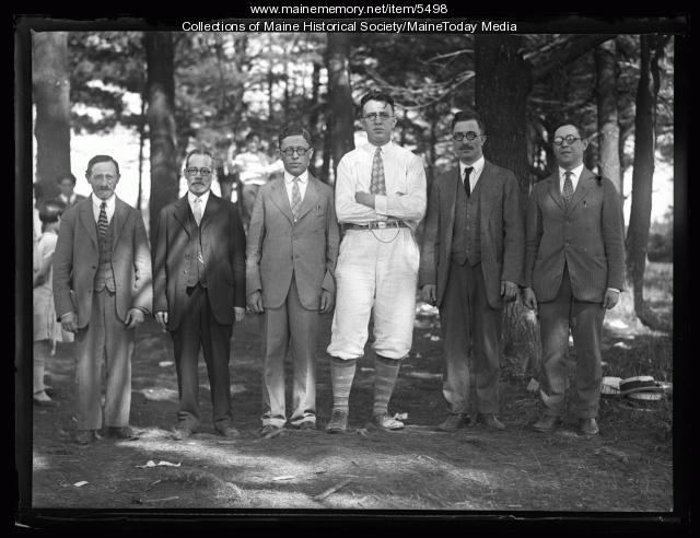 Teachers of the Portland Hebrew School, 1926