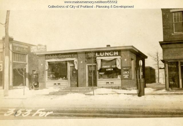 351-353 Forest Avenue, Portland, 1924