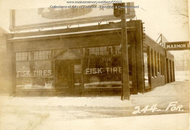 244 Forest Avenue, Portland, 1924