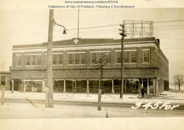 343-349 Forest Avenue, Portland, 1924