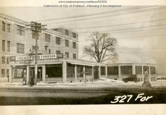 327-329 Forest Avenue, Portland, 1924