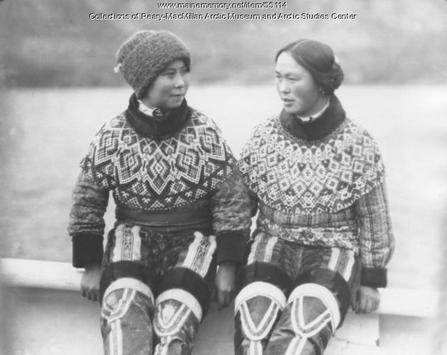 West Greenland women aboard the 'Bowdoin,' 1926