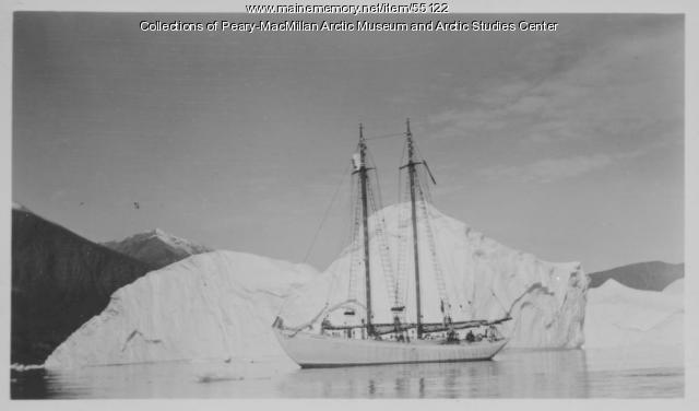 Schooner 'Bowdoin,' Greenland, 1939