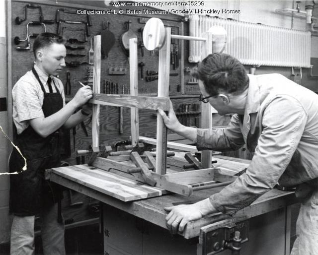 Shop class, Fairfield, ca. 1960