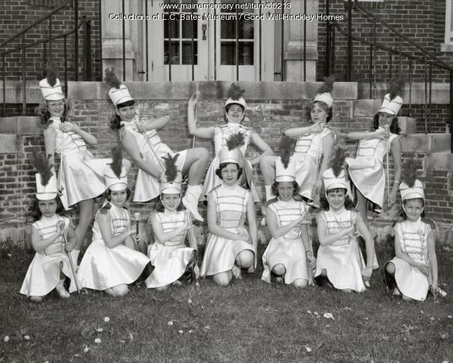 Averill High School Cheerleaders, Fairfield, ca. 1970