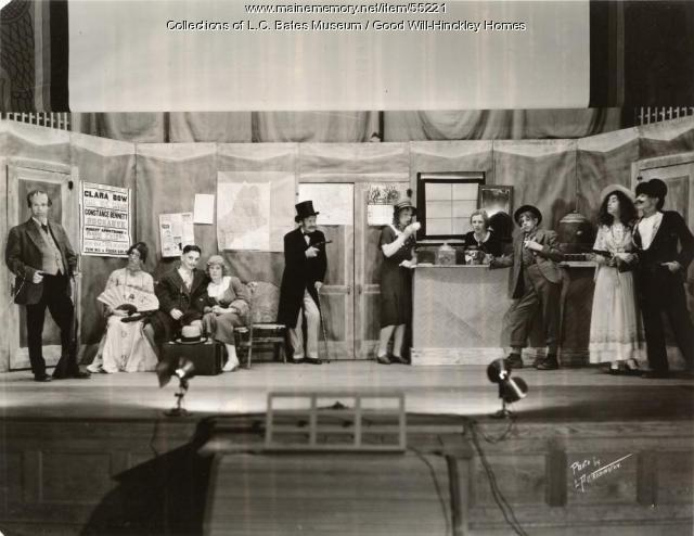 High School play, Fairfield, ca. 1945